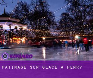 Patinage sur glace à Henry