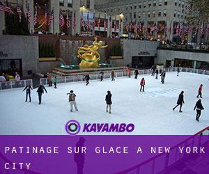 Patinage sur glace à New York City