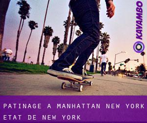 patinage à Manhattan (New York, État de New York)